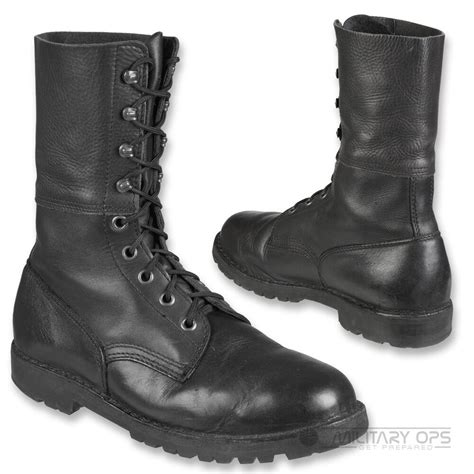 Army Semi Boot german austrian para boots paratrooper boot vintage army