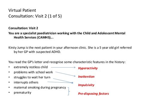 learning module  psychiatry  attention deficit