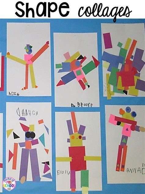 shape activities  preschool pre   kindergarten