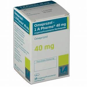 Omeprazol 40 Mg 1a Pharma Magensaftres  Kapseln