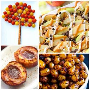 20 more healthy fall snacks what can we do with paper