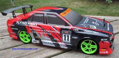 Rc Nitro Race Car Radio Remote Control 1/10 Scale 2.4g Rtr