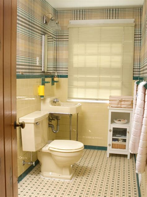 floor tile styles redecorating a 39 50s bathroom hgtv