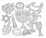 Coloring Coin Hanukkah Dreidel Menorah Drawings Symbols Adult Goblet Ty Happy Printable Hannukah Traditions Marianswelt sketch template