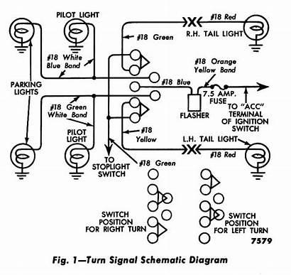 Wiring Turn Signal Diagram 1956 Signals Ford