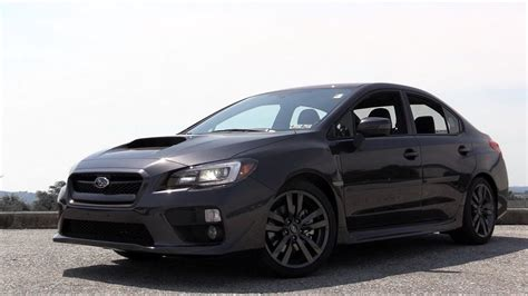subaru wrx review youtube