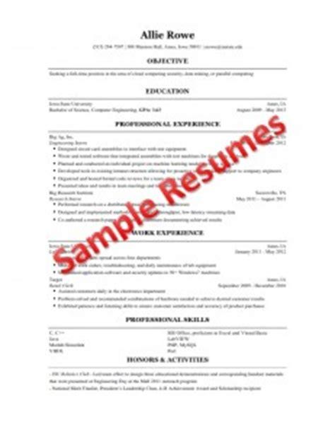 resume building  engineering students engineering