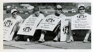 Pro Players Outside Rfk Stadium Strike Nfl 1987 Players