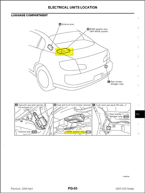 2012 Murano Bose Wiring Diagram by Wrg 7159 2012 Murano Bose Wiring Diagrams