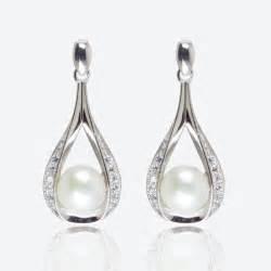 creole earrings the suzette sterling silver cultured freshwater pearl earrings