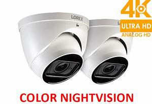 Lorex 4k Ultra Hd Motorized Varifocal Dome Security Camera