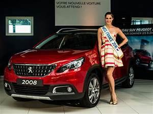 Peugeot Regala Un 2008 A Miss Francia