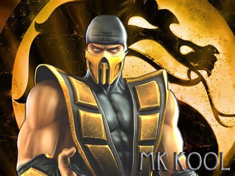 Mortal Kombat Images Scorpion Flames Hd Wallpaper And
