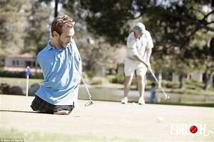 Truly and inspiration! Nick Vujicic playing Golf | Golfer ...