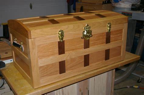 steamer trunk plans plans woodworking wood
