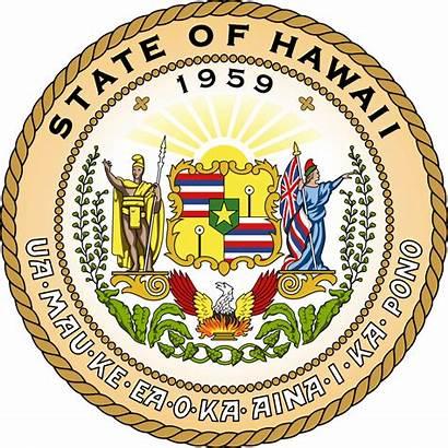 Hawaii Wikipedia Senate State Seal Svg