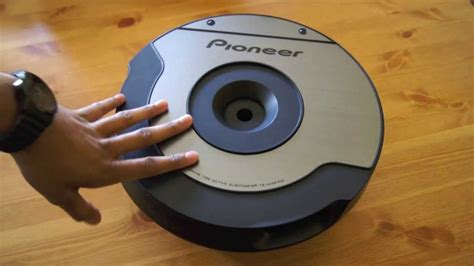 pioneer ts wx610a spare tyre active subwoofer review