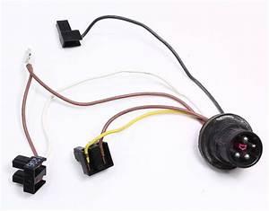 Head Light Bulb Internal Wiring Harness Audi A4 B5 96
