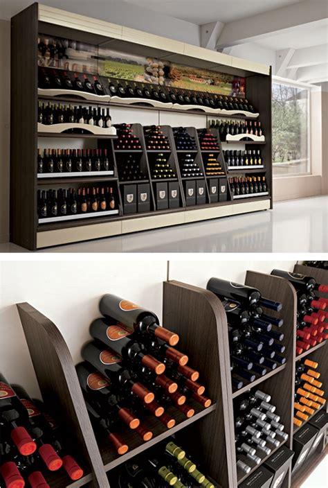 scaffali per vini arredamento enoteca wine bar attrezzature e scaffali