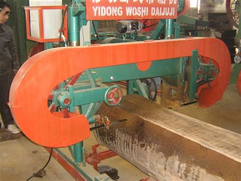 factory sale horizontal wood sawmill logs machine portable band   coconut lumber