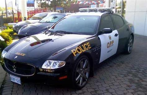 maserati quattroporte sport gt  fastest police