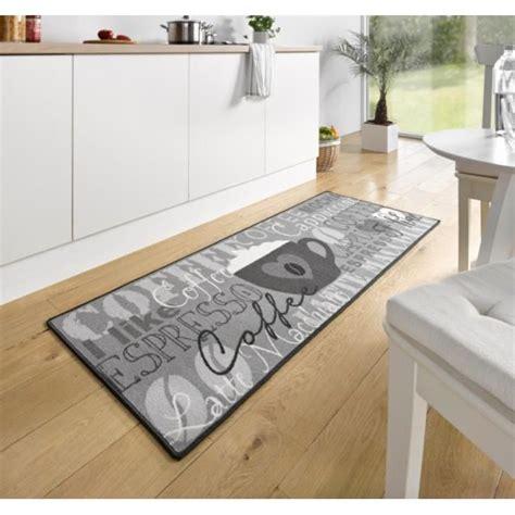 c discount cuisine tapis de cuisine coffee cup gris 67x180 cm 102370