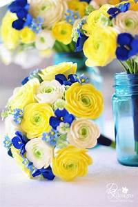 130 best BLUE and YELLOW wedding ideas images on Pinterest ...