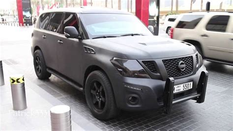 darth vader patrol frosted grey nissan patrol le youtube