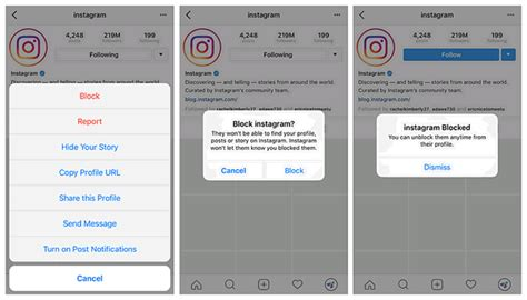 how to unblock someone on your iphone how do i block and unblock in instagram on iphone