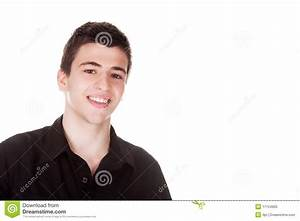 Handsome Young Man Smiling Royalty Free Stock Photo ...