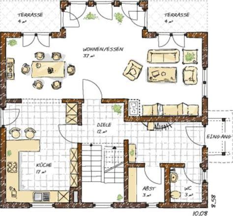haus raumaufteilung beispiele einfamilienhaus grundrisse 120 150 qm