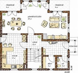 Haus Raumaufteilung Beispiele : einfamilienhaus grundrisse von 120 150 qm ~ Lizthompson.info Haus und Dekorationen