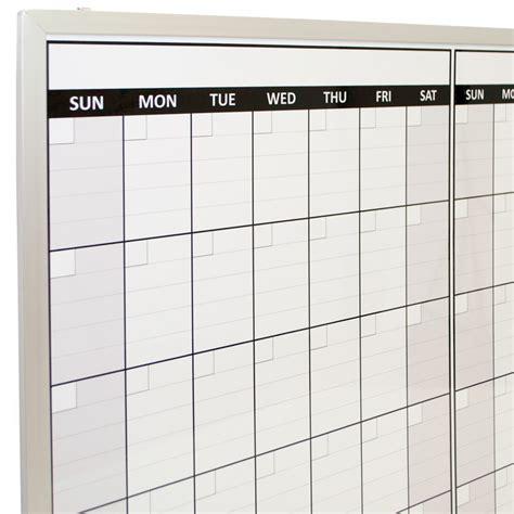 Bulletin Board Calendar Template by Framed Erase Calendar 187 Calendar Template 2018