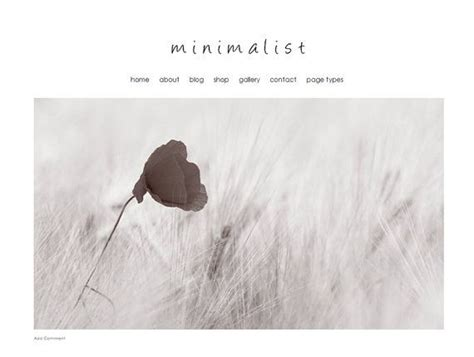 Theminimalist Template by Weebly Photography Website Design Modern Website