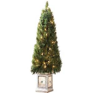 4 pre lit porch christmas tree walmart com