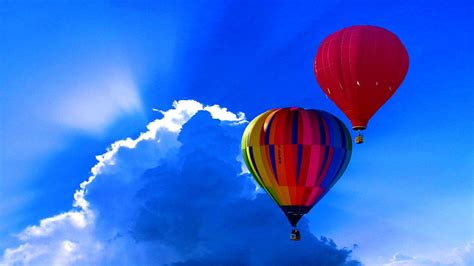 hot air balloon sky cloud  photo  pixabay