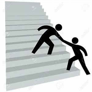 Stairs clipart stick figure - Pencil and in color stairs ...