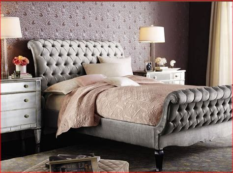 Bed Frame With Quilted Headboard by Quilted Headboard And Footboard Bed Upholstery