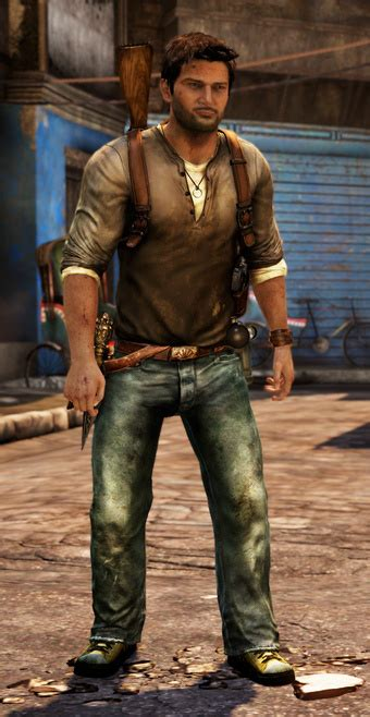 Virtual Fashion What Theyre Wearing In Uncharted 2