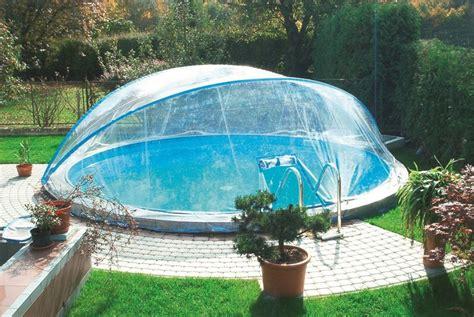 winterabdeckung pool rund abdeckung cabrio dome 216 3 00m rund pool 220 berdachung schwimmbecken ebay