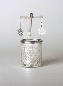 Glas Für Windlicht : glas karussell windlicht schneeflocke teelicht weihnachtlich festliche deko ebay ~ Markanthonyermac.com Haus und Dekorationen