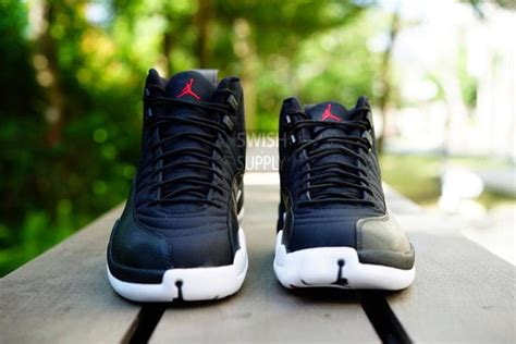 Air Jordan XII 12 Black Nylon Waterproof Release Date | Complex