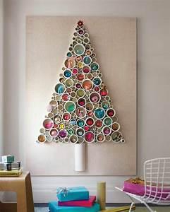 Weihnachtsbaum Selber Basteln : weihnachtsbasteln mit kindern 105 tolle ideen ~ Lizthompson.info Haus und Dekorationen
