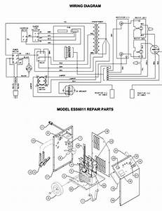 Associated Model Ess6008 Battery Charger Parts List Wiring Diagram Schematic