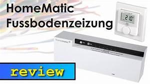 Homematic Ip Fußbodenheizung : homematic fussbodenheizung mit der ccu2 youtube ~ A.2002-acura-tl-radio.info Haus und Dekorationen