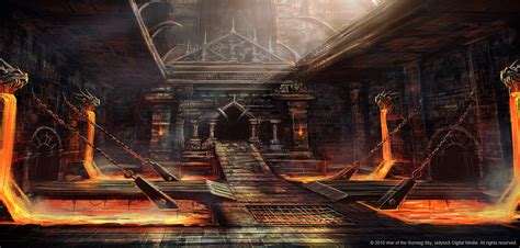 dungeon concept 01 by bpsola on deviantart
