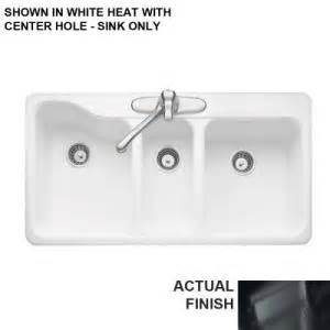 american standard silhouette triple bowl kitchen sink with