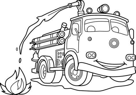 animasi mobil damkar belajar menggambar dan