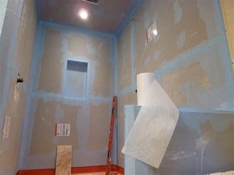 waterproof  tile walk  tile shower diy step