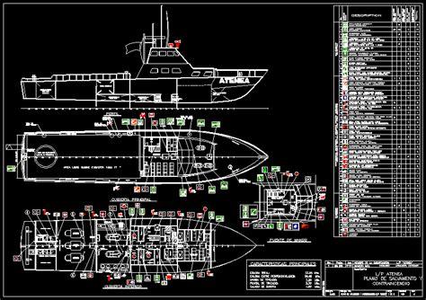 boat fire atenea dwg block  autocad designs cad
